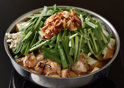 炙りもつ鍋セット(醤油・味噌)